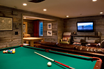 del zotto builders renovated basement